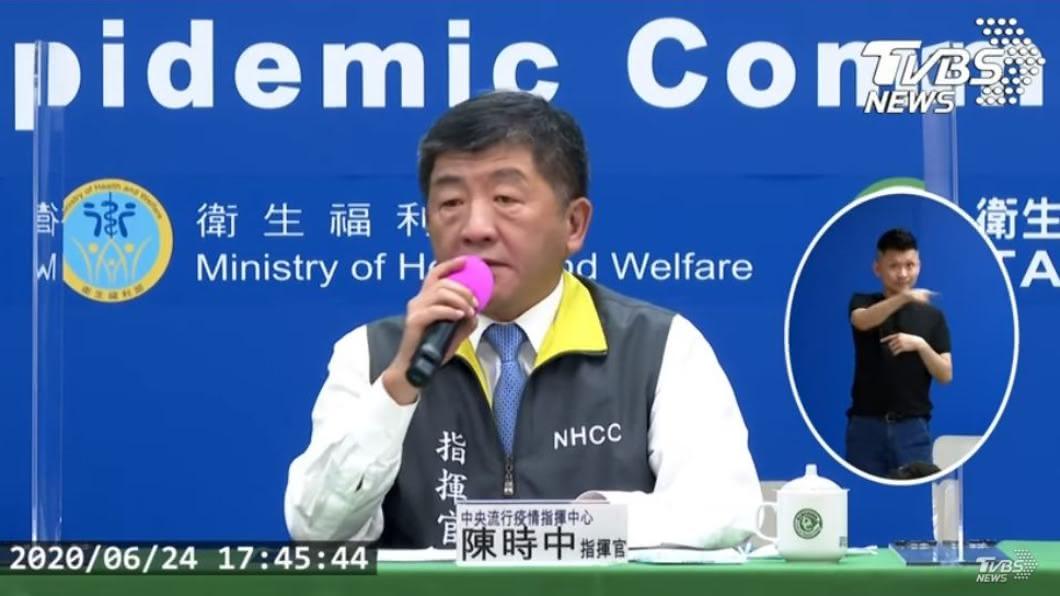 (圖/TVBS) 日女疑在台染疫可確定2件事 他:陳時中原本就不是神