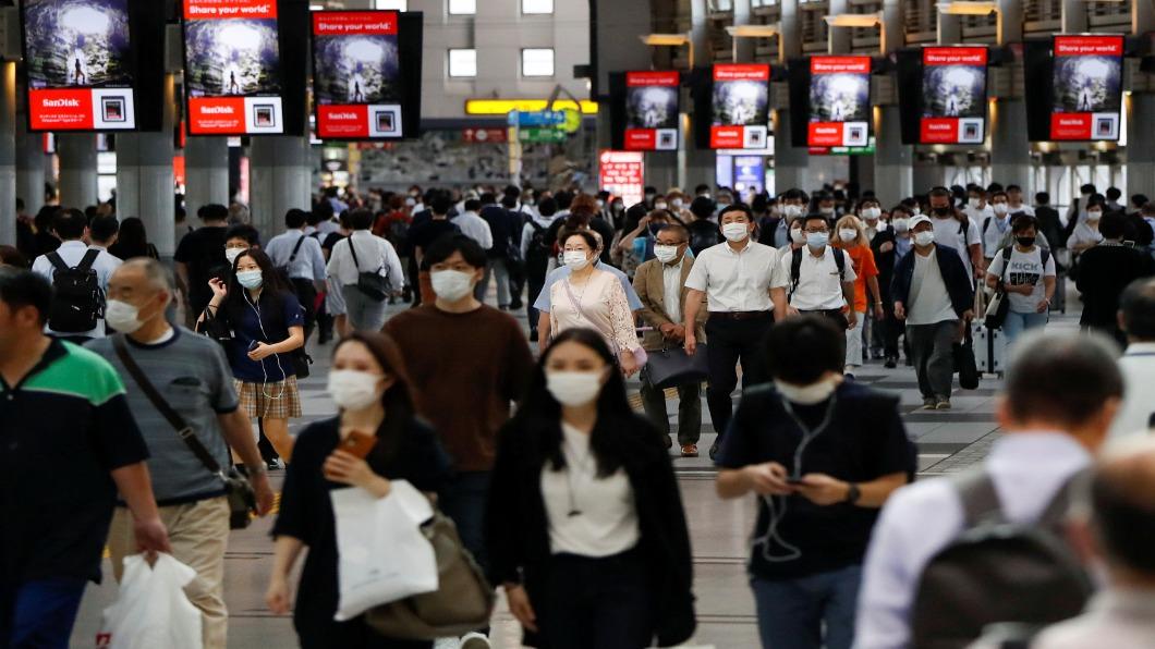 圖/達志影像路透 東京防疫破功 單日55例.警報解除後最多