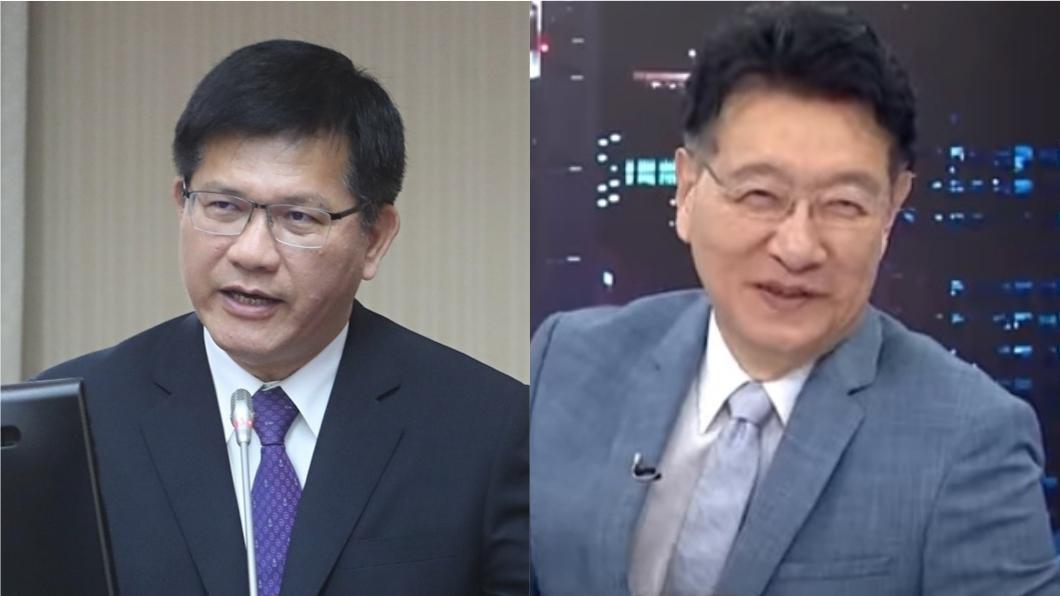 (左)交通部長林佳龍、(右)資深媒體人趙少康。(圖/TVBS) 國5塞林佳龍「不聰明」說 趙少康:去的都笨蛋嗎
