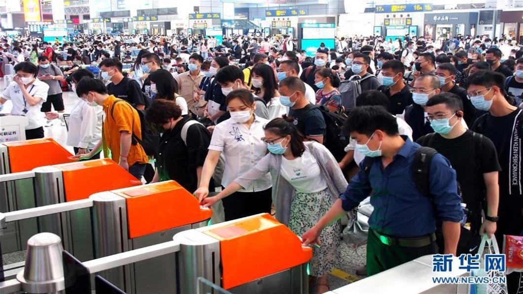 圖/翻攝自新華網 北京15天累計280例 陸專家:7月中下旬疫情清零