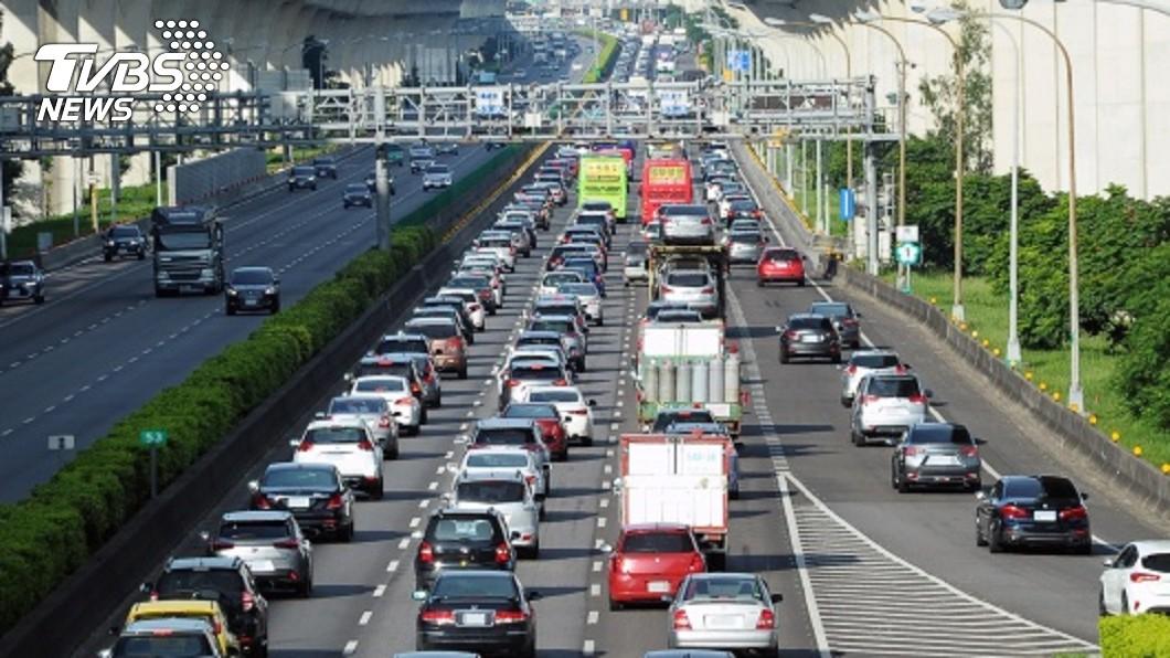 高速公路局預估連假第3天,國道將有旅遊及收假車潮。(示意圖/中央社) 端午連假第3日 估國5上午11時「塞到深夜」