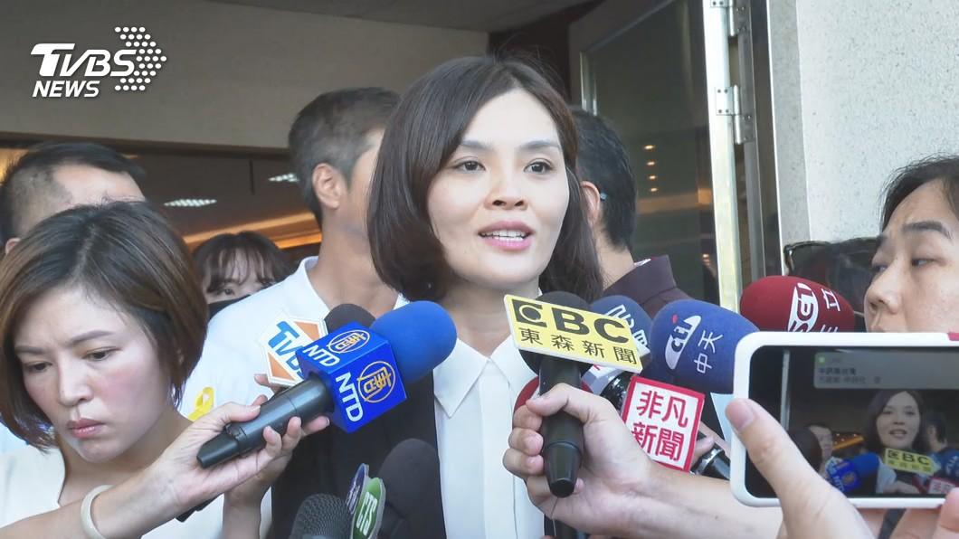 (圖/TVBS資料畫面) 李眉蓁競選團隊曝光 王金平、許崑源遺孀任主委