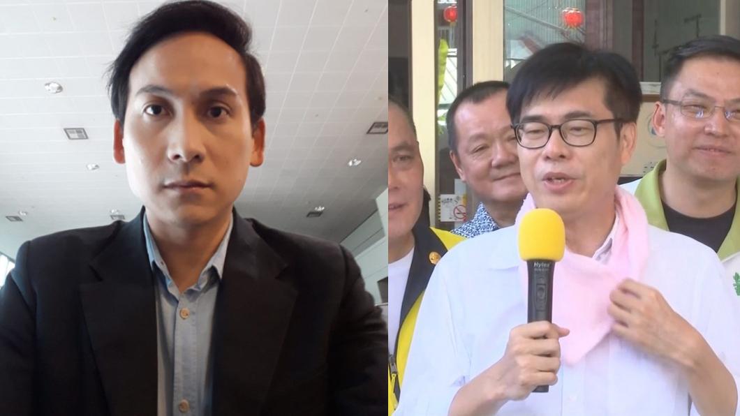 圖/翻攝自葉元之臉書、TVBS資料照 陳其邁轟李眉蓁「沒收罷免票」 葉元之8字反擊不忍了