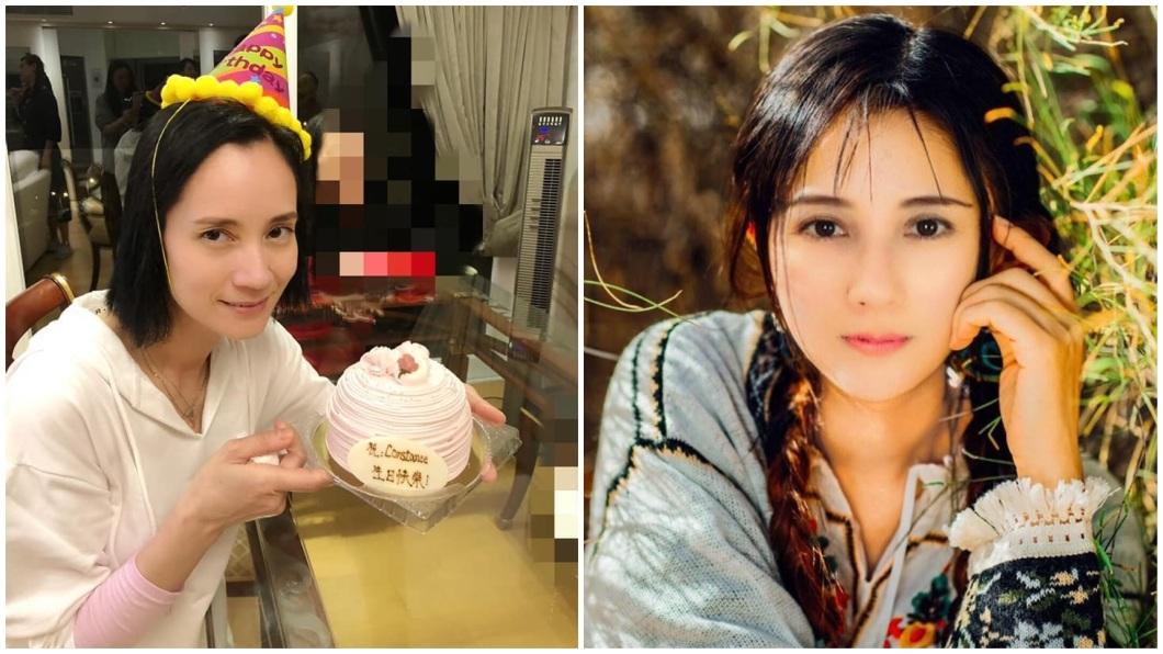 香港女星鄭艷麗因混血外貌,90年代演出不少三級片。(圖/翻攝自鄭艷麗臉書) 三級片混血豔星息影當清潔工 急診送加護病房險喪命