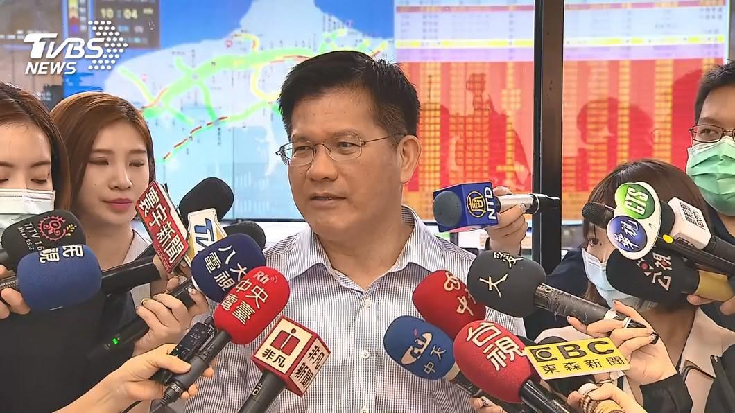 交通部長林佳龍。(圖/TVBS資料畫面) 參選下屆北市或中市長? 林佳龍:做好交通部長