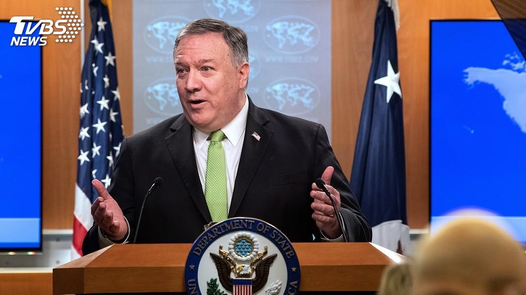 美國務卿龐佩奧。(圖/達志影像美聯社) 北京揚言反制美簽證制裁 美國務卿:一貫卸責