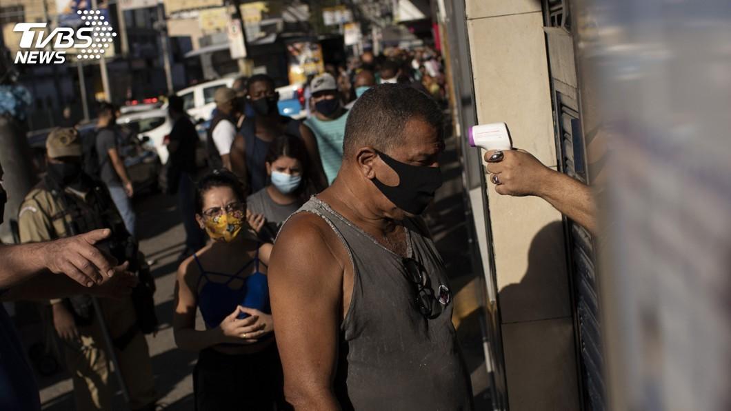 世衛呼籲,巴西在防治武漢肺炎的鬥爭不能有政治意識形態。(圖/達志影像美聯社) 世衛籲巴西拋棄政治意識形態 國家社會團結抗疫