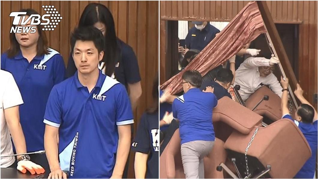 (圖/TVBS資料畫面) 蔣萬安操盤「驚人神秘戰術」  藍委占議場內幕曝光