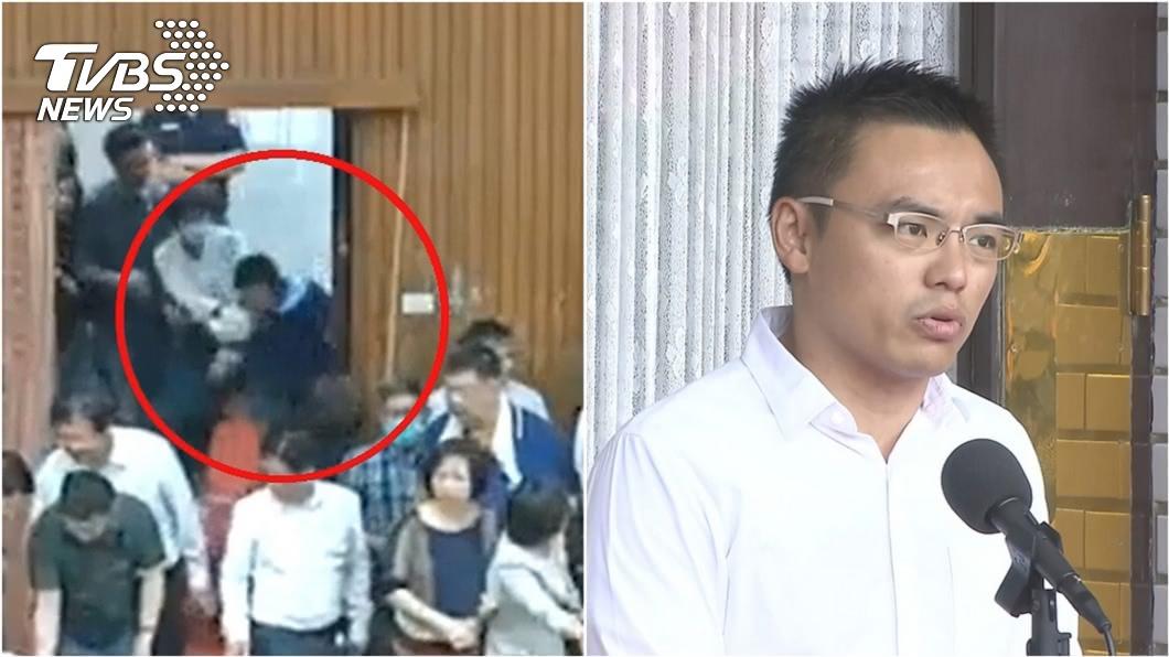 (圖/TVBS資料畫面) 洪孟楷PO片控邱議瑩先動手 釣出顏寬恒「也被她咬過」