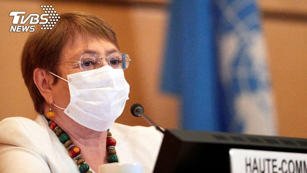 聯合國人權事務高級專員巴舍萊(Michelle Bachelet)。(圖/達志影像路透社) 籲陸廢港區國安法 20多個西方國家聯合國發聲明