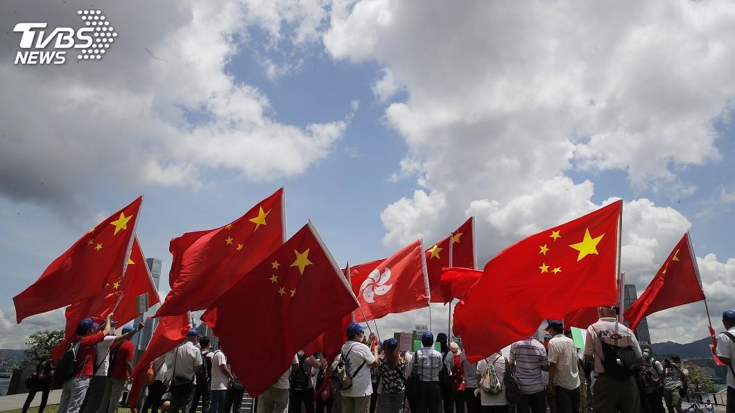 港區國安法正式生效實施。(圖/達志影像美聯社) 美議員提《香港避風港法案》 助港人申請難民身分