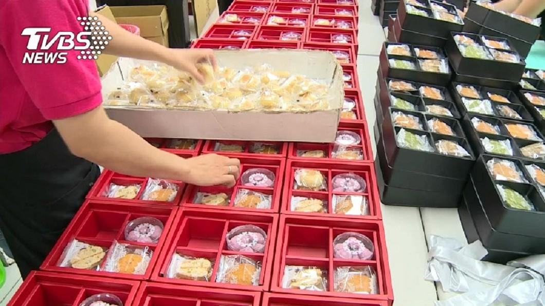 喜餅示意圖,與本文無關。(圖/TVBS) 婚紗宴客全免!只要80盒喜餅 準婆婆竟酸「笑死人」