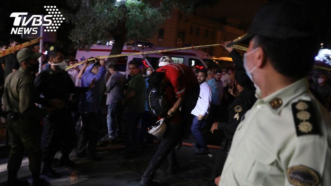 圖/達志影像美聯社 手術到一半! 伊朗診所氣爆已19人炸死