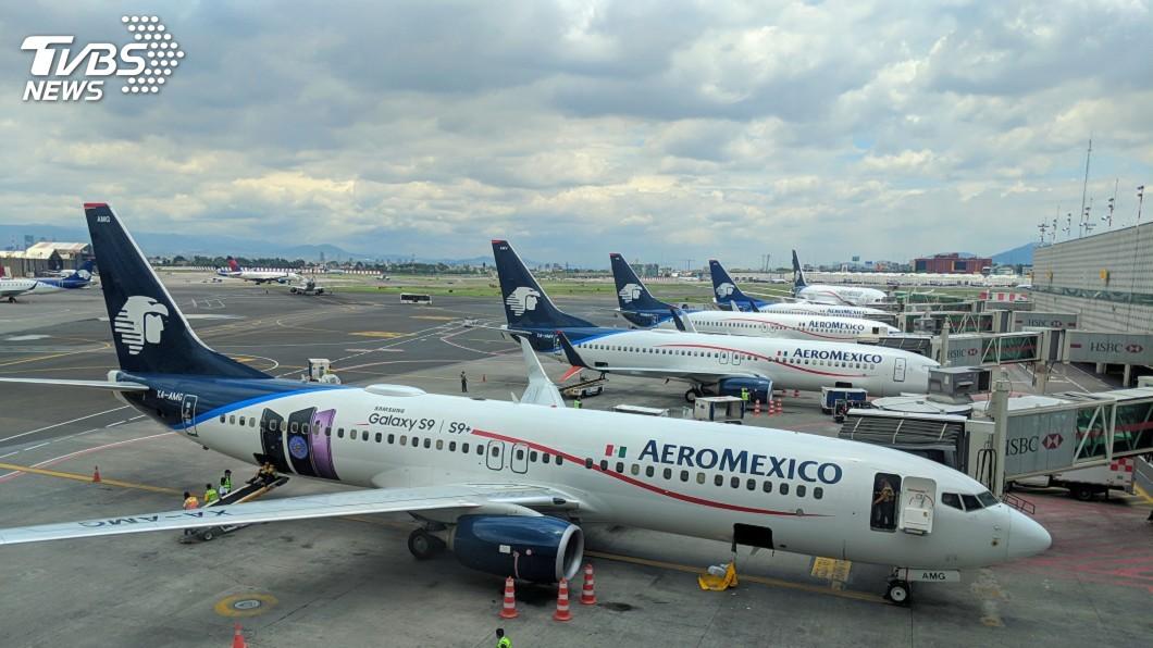 墨西哥國際航空公司已在美國聲請破產保護。(示意圖/TVBS) 不敵疫情衝擊 墨西哥國際航空在美聲請破產