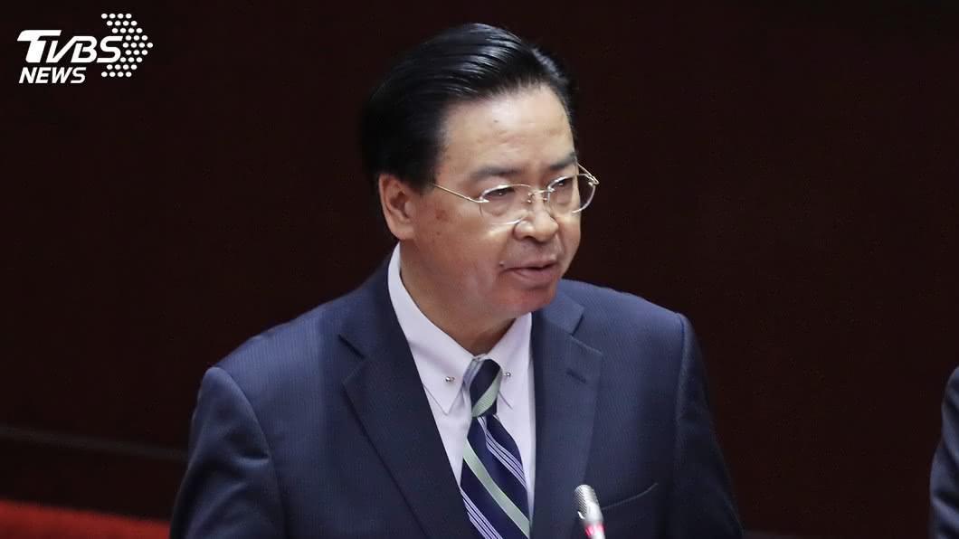 外交部長吳釗燮。(圖/TVBS) 憂命案傷形象 吳釗燮:台灣仍是亞洲最安全地方