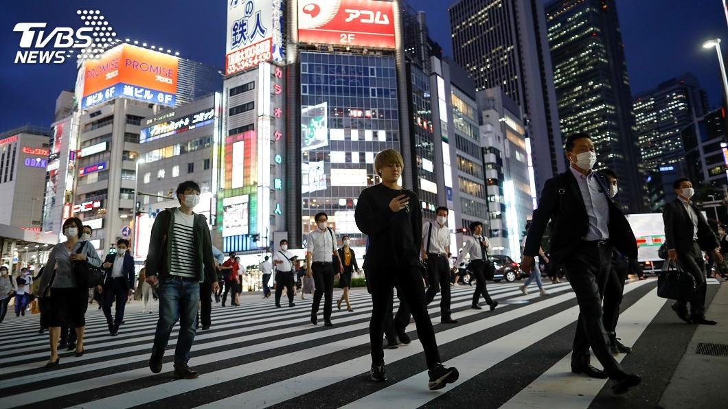 日本東京單日新增67例確診。(圖/達志影像路透社) 日本東京單日新增67例 緊急事態解除後新高