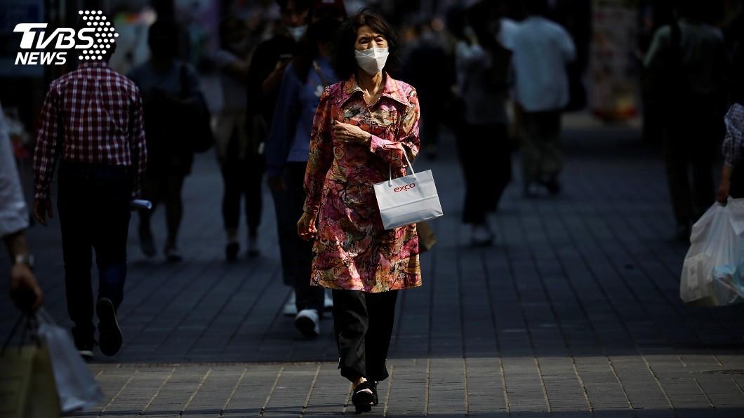韓國中央防疫對策本部通報,境內確診感染武漢肺炎新增51例。(圖/達志影像路透社) 韓國武漢肺炎新增51例 非首都圈疫情擴散