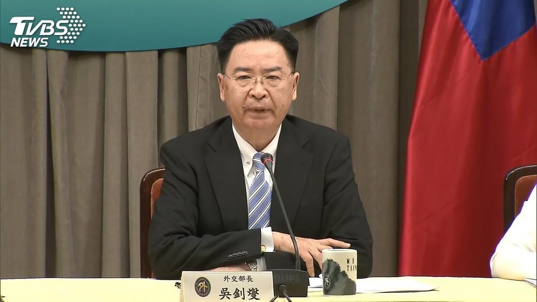 外交部長吳釗燮。(圖/TVBS) 台美關係有進展 吳釗燮:目前不尋求建立全面外交關係