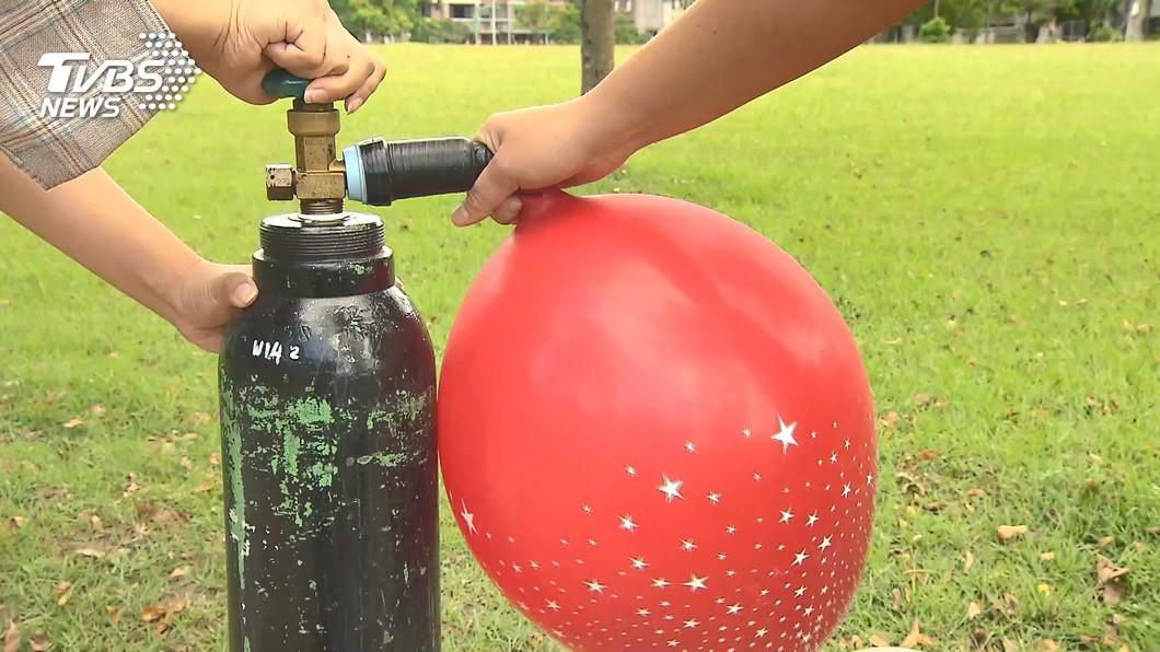(示意圖,與事件無關。圖/TVBS) 吸笑氣開車追撞聯結車…嘴含氣球被救 他瞎辯:失憶了
