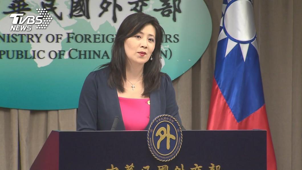 外交部發言人歐江安。(圖/TVBS) 布林肯任命聽證會 外交部:展現拜登政府堅定挺台