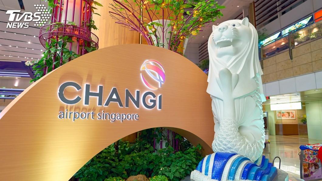 新加坡樟宜機場將推出無接觸式機器。(示意圖/TVBS) 迎航空旅行新常態 樟宜機場推無接觸式自助報到