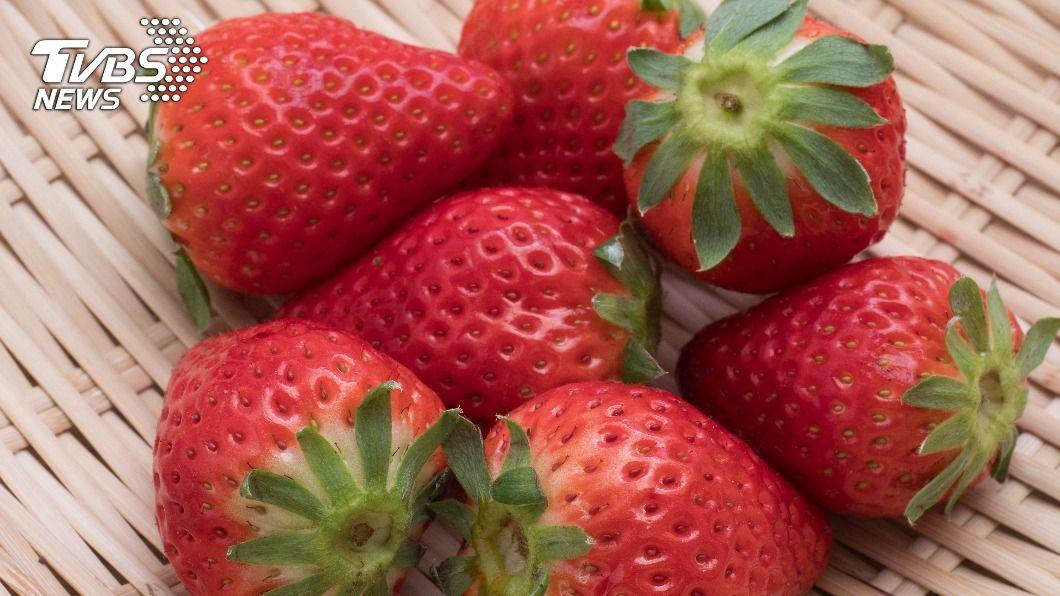 示意圖/TVBS 草莓故鄉的味道 10顆「天空莓」打造剉冰