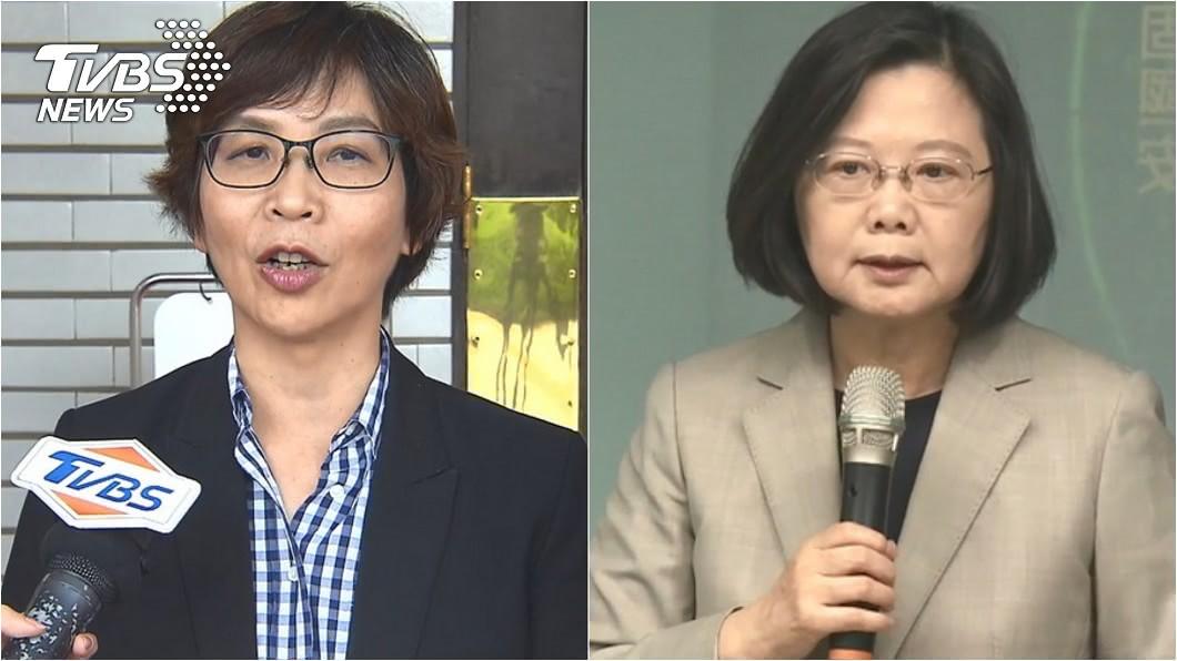 圖/TVBS資料照 為何年輕人都支持蔡英文? 蔡壁如:20幾歲的愛跟風