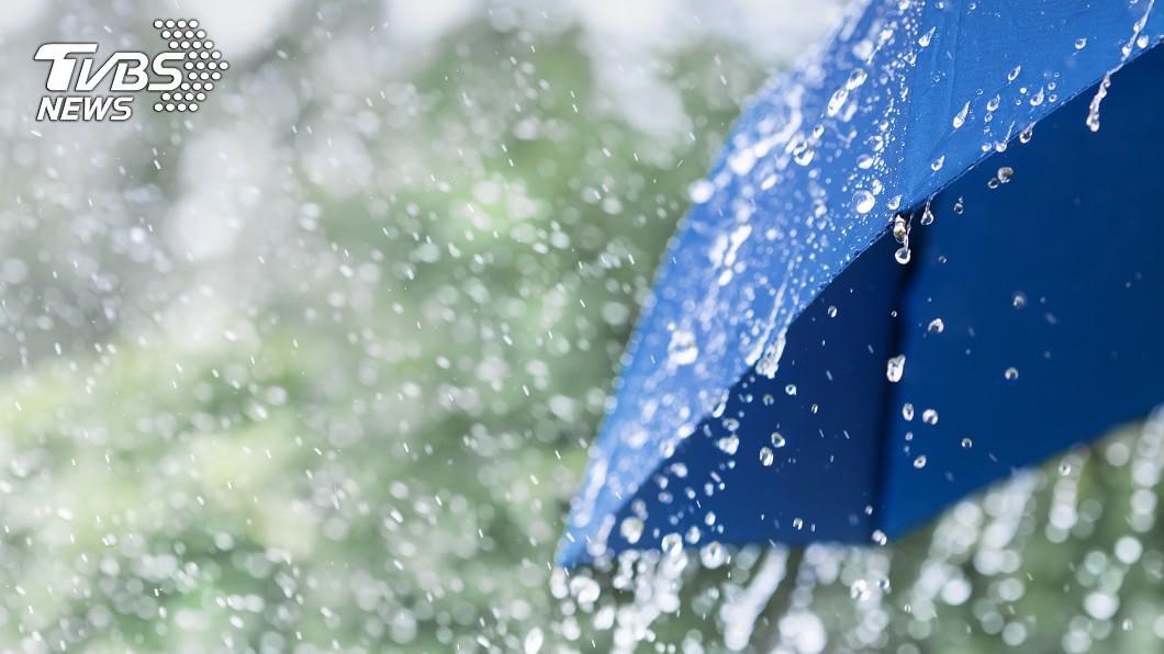 示意圖/TVBS 又悶又熱!全台大雨何時停 1張圖看懂3天天氣