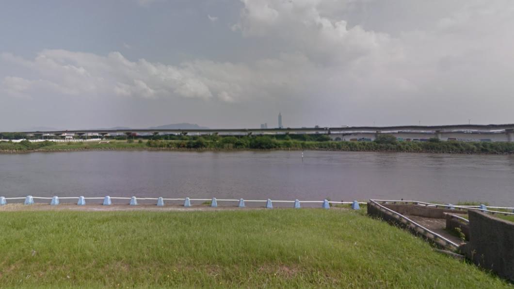 台北市河濱公園驚見浮屍。(圖/Google map) 北市河濱公園驚見浮屍 民眾晨運接近看錯愕報警