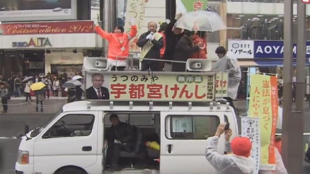 東京知事選舉 日本首場網路選戰
