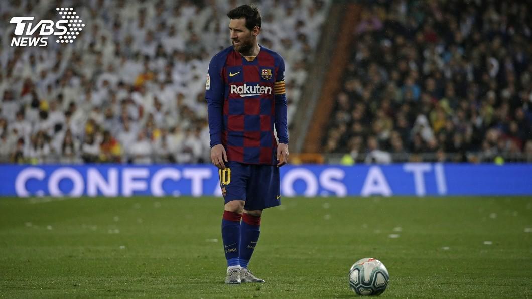 阿根廷足球巨星梅西。(圖/達志影像美聯社) 駁斥梅西將離隊 巴塞隆納主席:他會在這退休
