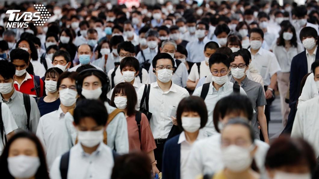 (圖/達志影像路透社) 連5天破百!日本東京疫情再反彈 單日新增102例