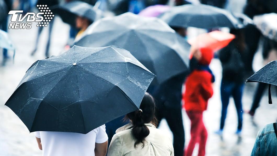 (示意圖/shutterstock 達志影像) 外出小心!對流雲系發展旺盛 高屏、台東防大雨