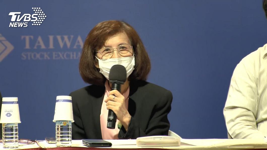 大同公司董事長林郭文艷。(圖/TVBS) 涉華映財報不實案遭訴 林郭文艷喊冤否認犯罪