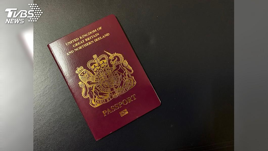 英國國民海外護照(BNO)。(示意圖/TVBS) 英國延長港人居留權 中國大使警告勿干涉內政