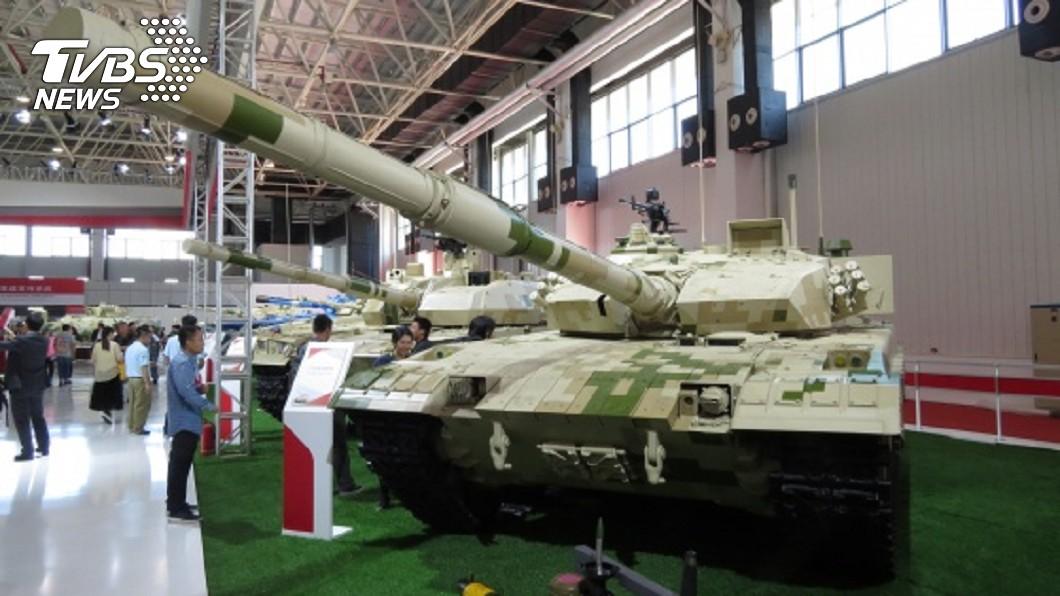 圖為2018年珠海航展裡的中國各型外貿戰車。(圖/中央社) 美頻退出軍控 中國簽署UN武器貿易條約