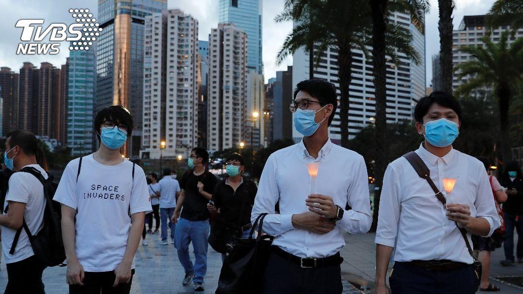香港疫情出現不只一起社區傳播鍊。(圖/達志影像路透社) 香港疫情再亮紅燈 專家:不只一個社區傳播鏈