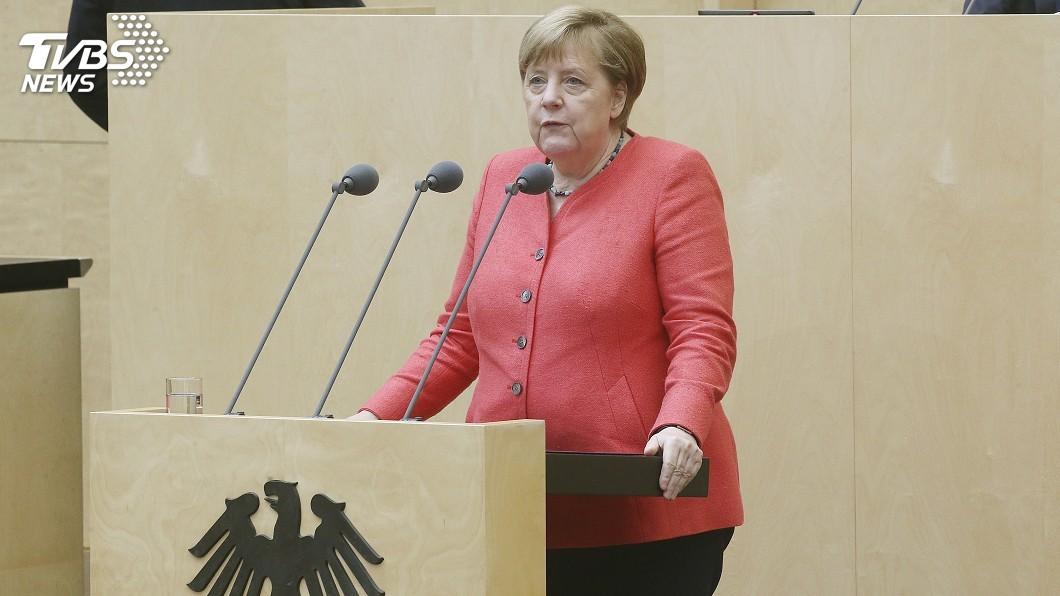 德國總理梅克爾。(圖/達志影像美聯社) 梅克爾對港區國安法反應不夠硬 德國朝野抨擊