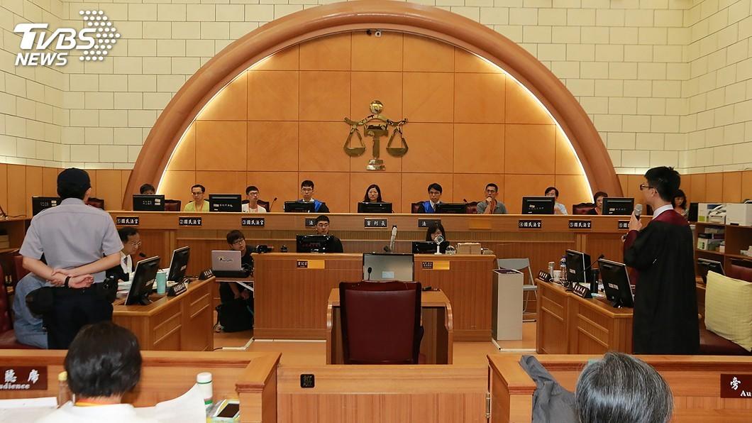 士林地方法院舉行國民法官模擬法庭。(圖/中央社資料照) 國民法官藍籲懸崖勒馬 綠盼讓判決符合社會期待