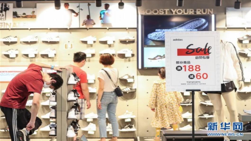 圖/翻攝自 新華網 「五五購物節」銷售創648億人民幣 上海決定年年辦