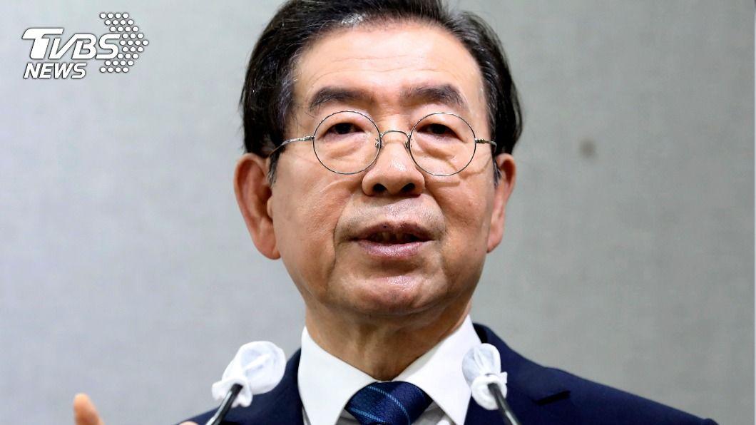 圖/達志影像美聯社 首爾市長尋獲身亡! 警消搜山找到遺體