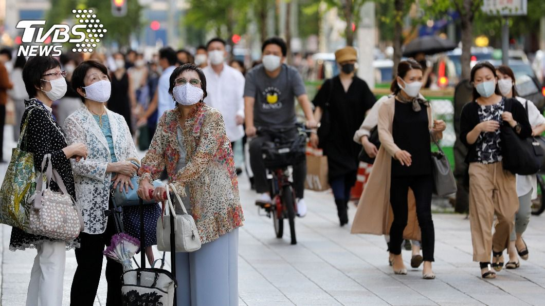 (圖/達志影像路透社) 東京新增243例 衝破疫情爆發以來最高紀錄
