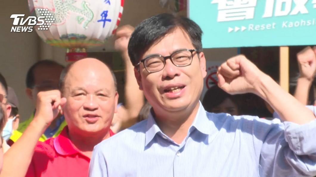 高雄市長當選人陳其邁。(圖/TVBS) 傳副手由女性出任?陳其邁口風緊不透漏