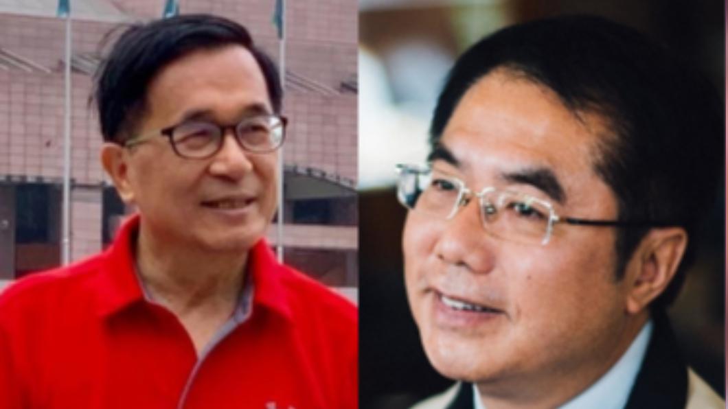 前總統陳水扁(左)、台南市長黃偉哲(右)。(圖/翻攝自臉書) 陳水扁回台南落葉歸根 黃偉哲:這是好事情