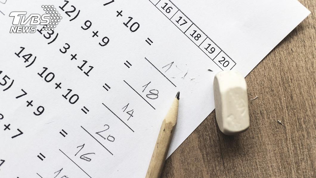 小孩子的童言童語常惹得大人捧腹大笑!(示意圖/TVBS) 兒子數學期末考「遭扣14分」 爸爸反讚天才:必須裱框
