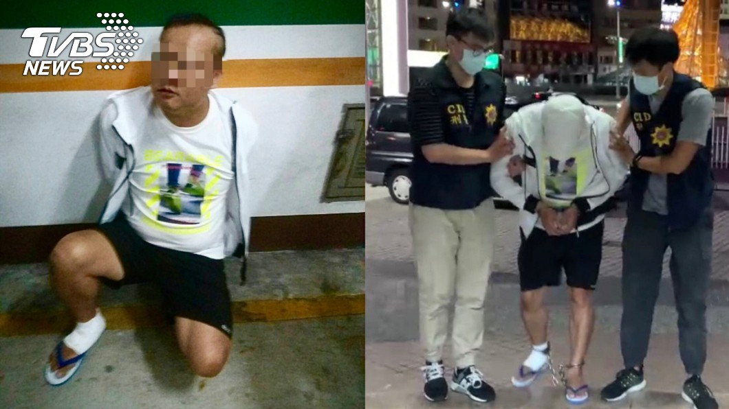 圖/TVBS 高雄舞廳前狠砍3刀奪1命!凶手落網曝動機:不滿被瞪