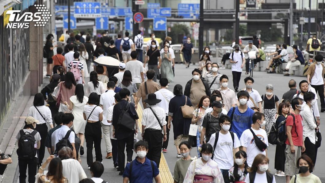 東京都累計病例已突破8000例大關。(圖/達志影像美聯社) 日本東京單日新增119例 累計突破8千例大關