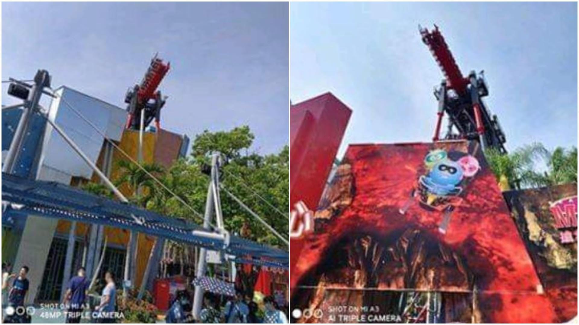 麗寶樂園「斷軌」又故障 遊客掛10樓高驚聲尖叫