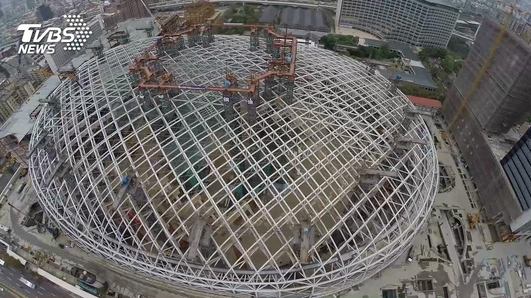 (圖/TVBS) 拚任內政績 柯文哲:大巨蛋明年完工、環狀線全開工