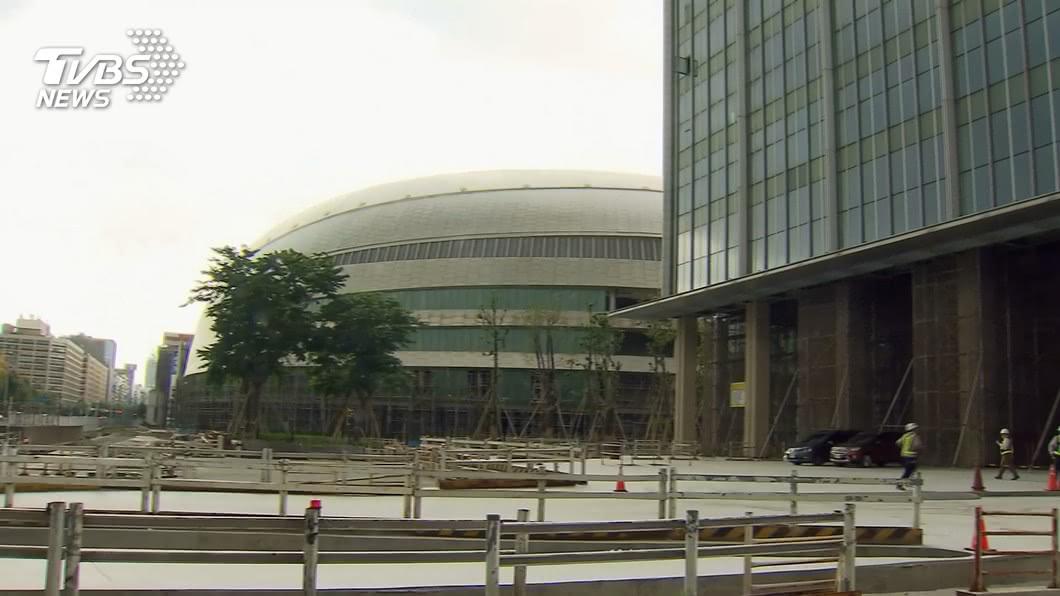 (圖/TVBS) 議員指大巨蛋24項缺失 柯文哲:涉公安該停工就會停